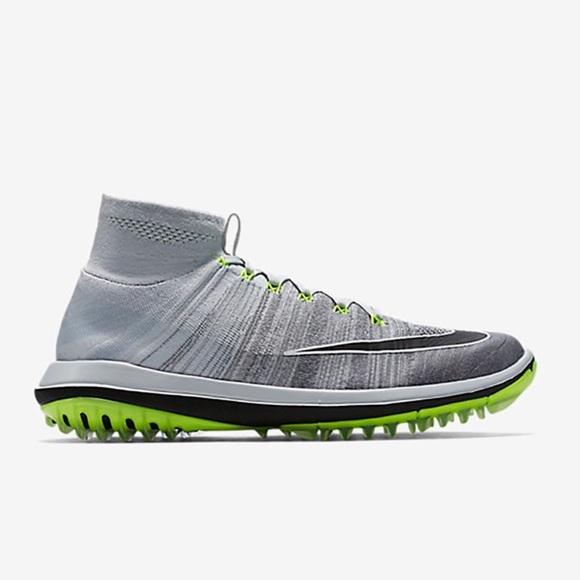 371e7f682045 Rare Nike Flyknit Elite Golf Shoe